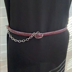NY Co. Faux Leather Women's fashion Belt